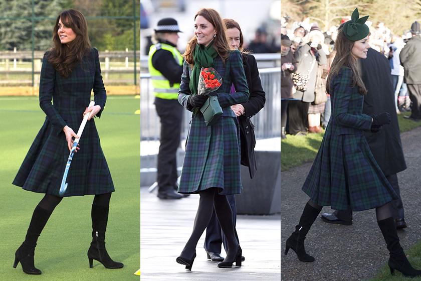Kate Middleton Alexander McQueen Re Wears