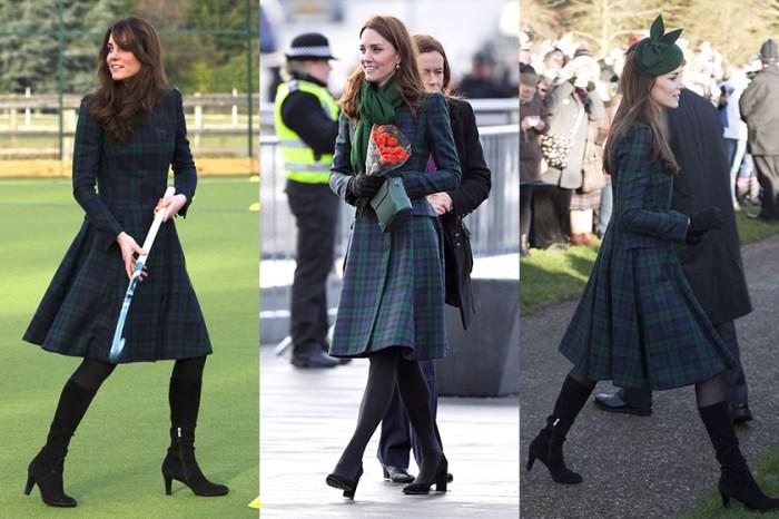 最節儉的王妃:Kate Middleton 同一件衣服穿三次,絲毫不減她的優雅氣質!