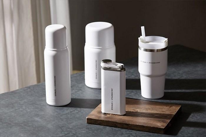 絕美純白設計!Starbucks x Stanley 聯名不銹鋼保溫瓶,質感控怎能不愛?