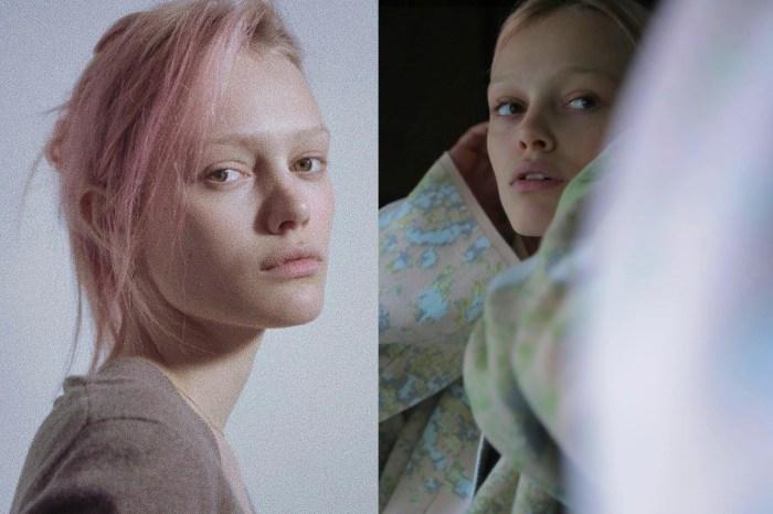 Saint Laurent 新寵兒:粉紅頭髮模特 Simona Kust,年僅 16 歲的新面孔!