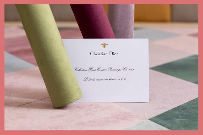 #POPBEE 時裝周直播:Dior 2019 春夏高訂系列,帶你同步直擊巧奪天工的夢幻系列!