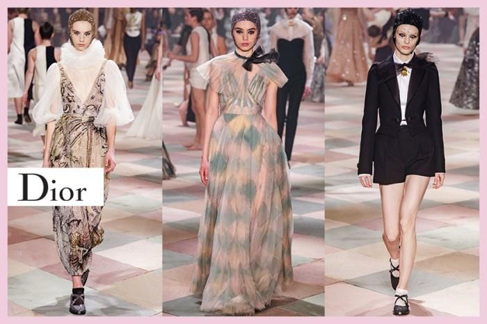 #SS19 Couture:Dior 重本打造最時尚馬戲團,讓人摒住呼吸的華麗演出!