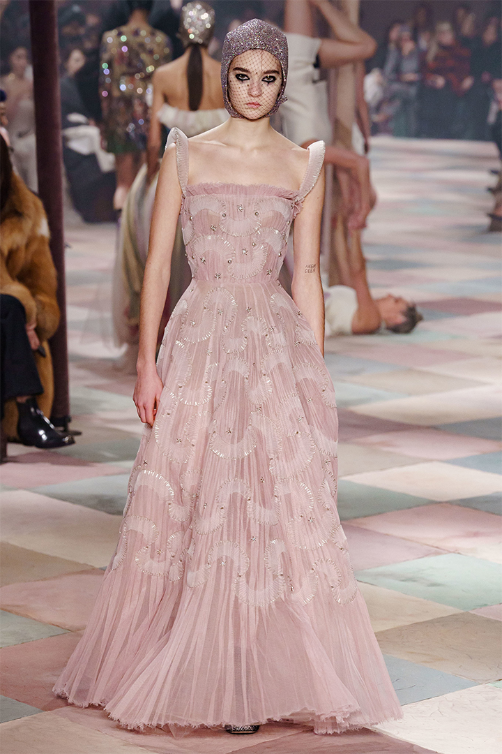 Christian Dior ss2019 couture by Maria Grazia Chiuri runway look