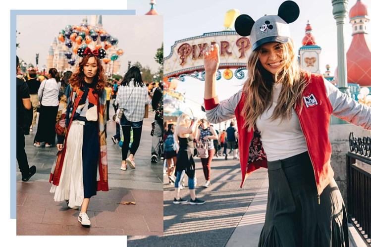 去樂園也要用心打扮,來自全球迪士尼的時尚街拍!