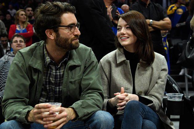 Emma Stone boyfriend  Dave McCary SAG Awards 2019