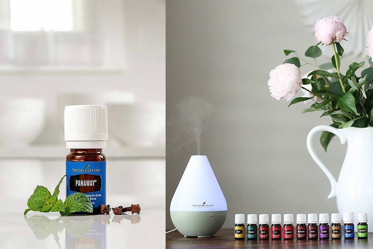 Essential oils for cold