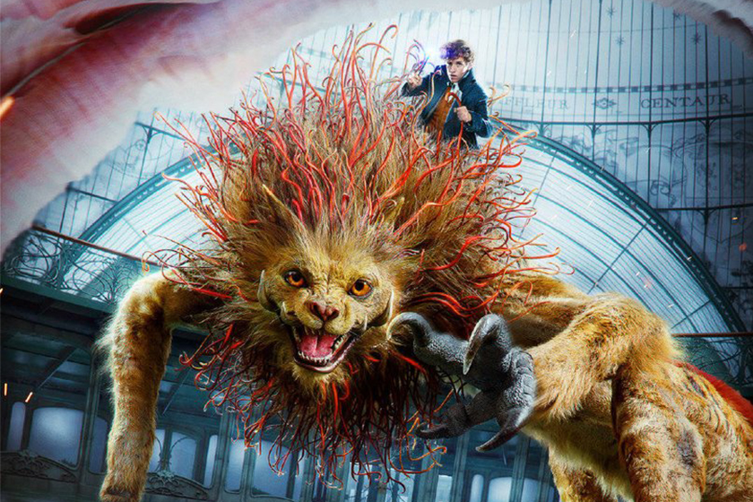 fantastic beasts 3 take place in china