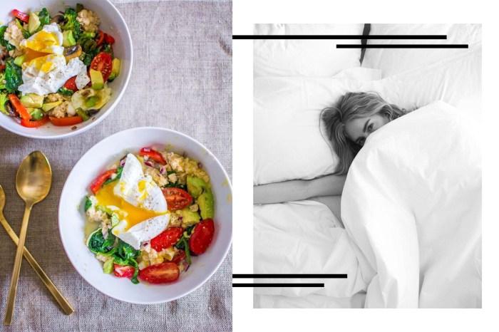 如果你也有睡眠困擾,那麼這些美食你得大口大口的吃!