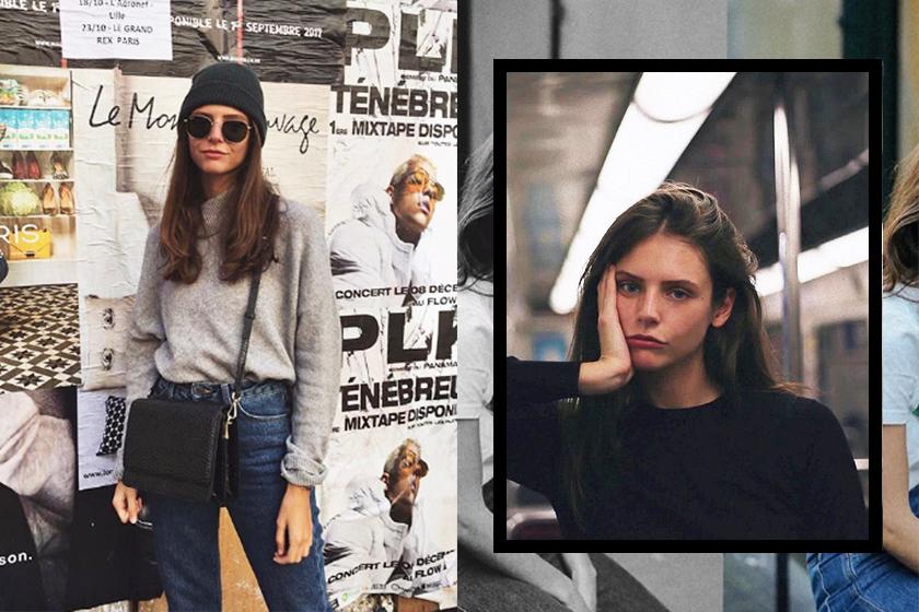 french street style instagram girl alizeegamberini