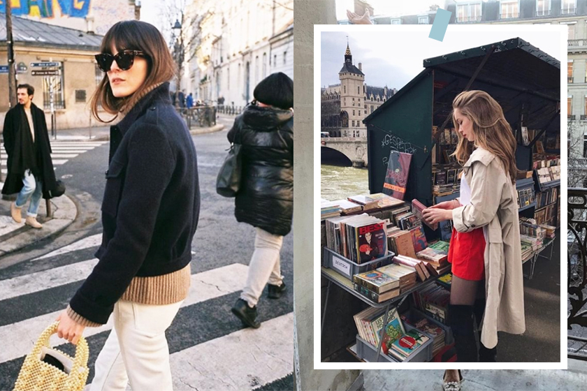 french style fashion instagram account frenchgirldaily