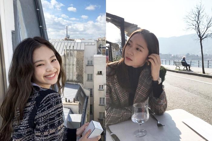 經過網民的精密調查,Krystal 跟 Jennie 竟然有著這些相同之處!