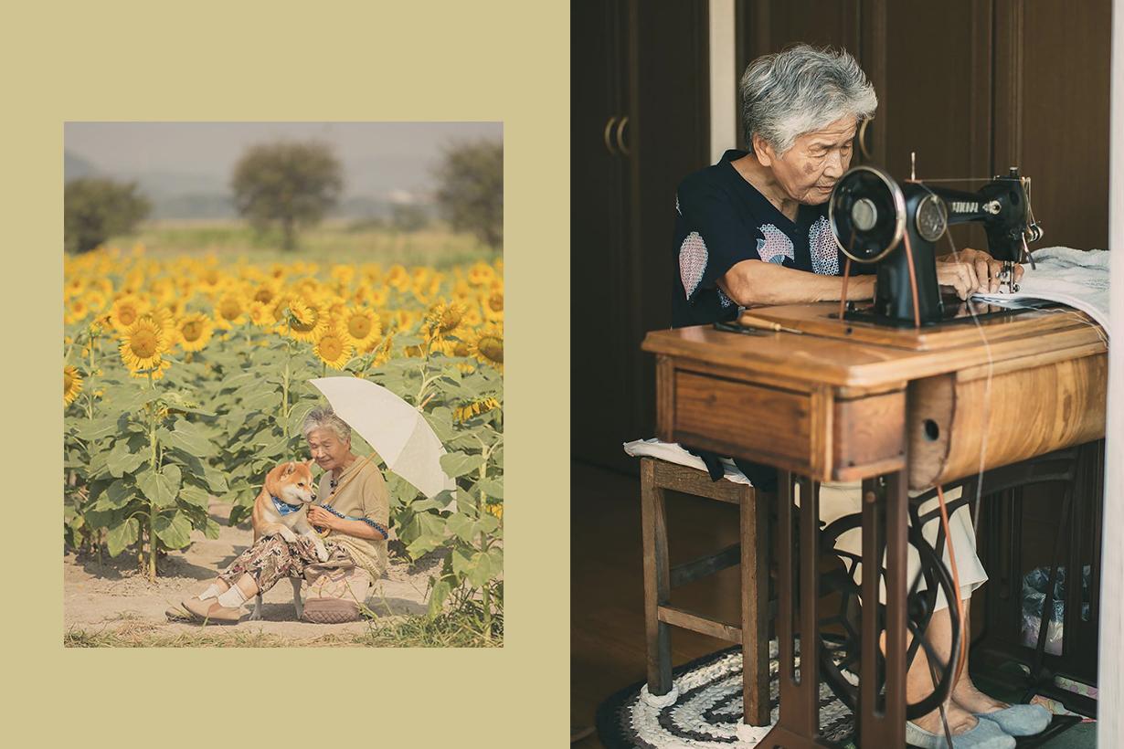 Japanese photographer YASUTO captured is grandmother's daily life