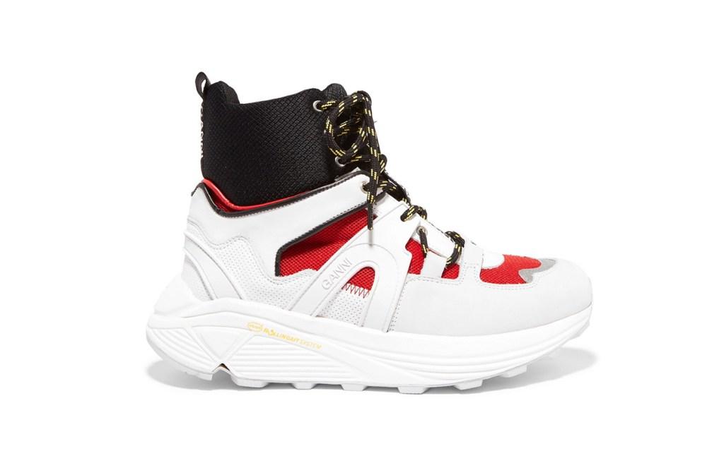 Ganni Brooklyn High-Top Sneakers