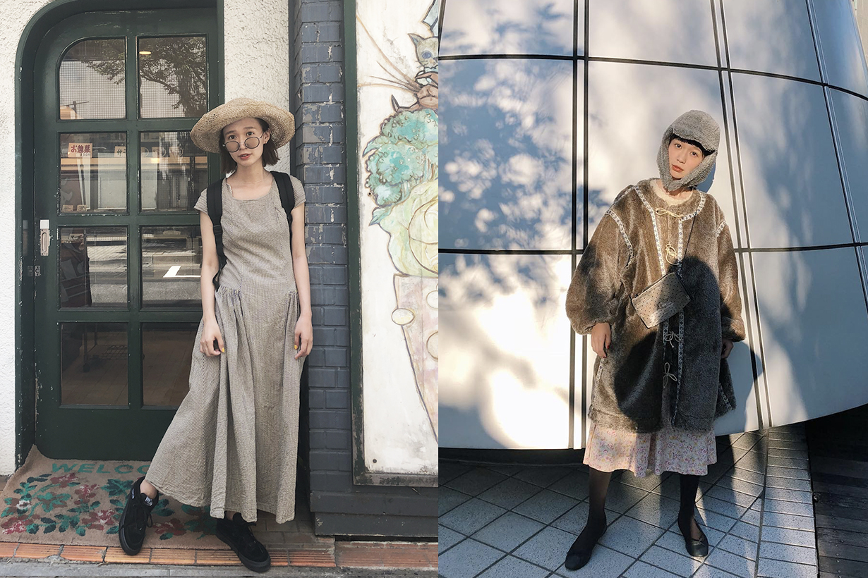 Japanese model instagram short girls styling tips