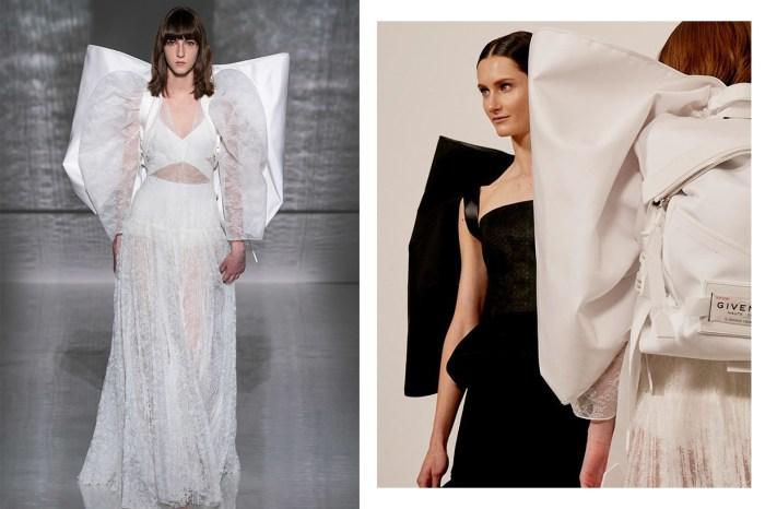 #SS19 Couture:潮人也在盛讚 Givenchy 的「蝴碟仙子背包」!