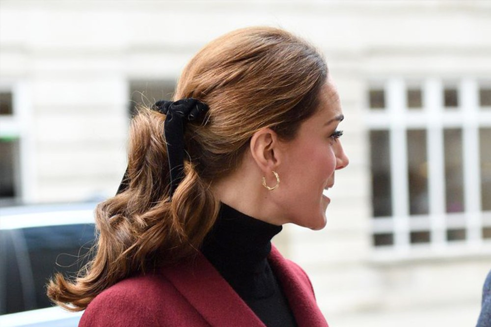 Kate-Middleton Bow Ponytail
