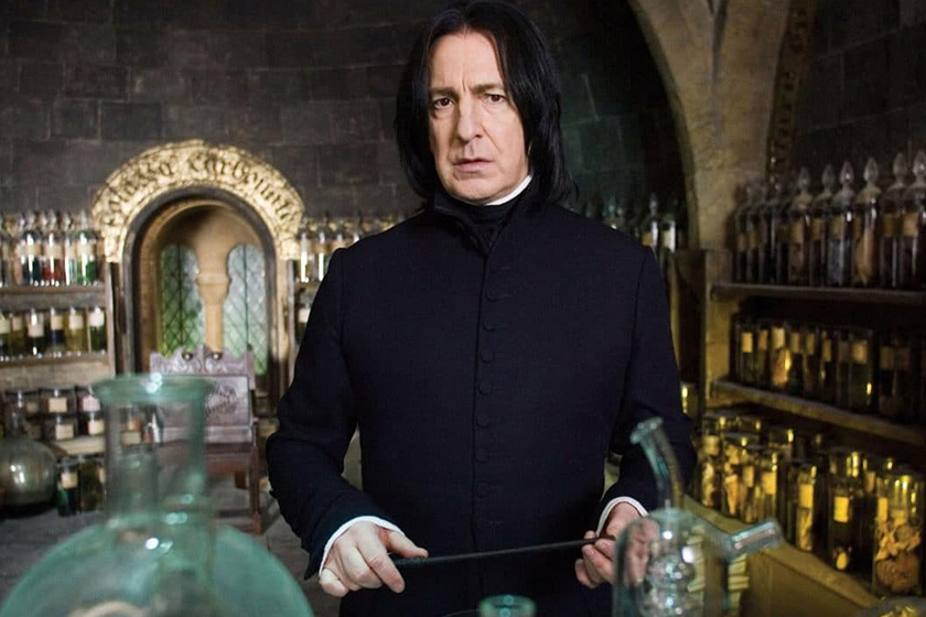 harry potter alan rickman goodbye letter to fans