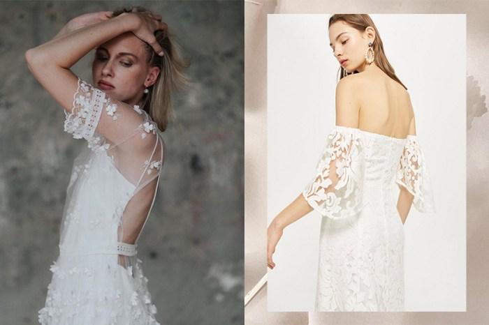 預算有限?這些「親民價」婚紗質感絕不比高級品牌差!