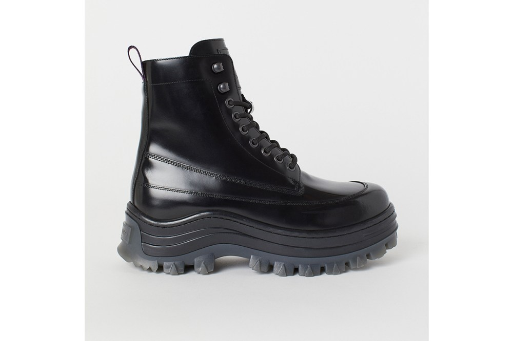 H&M x Eytys Leather Boots
