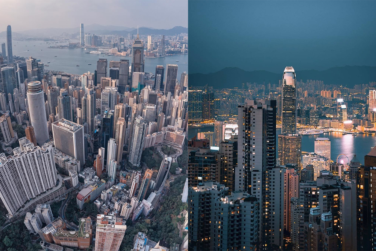 Urban Density in Hong Kong