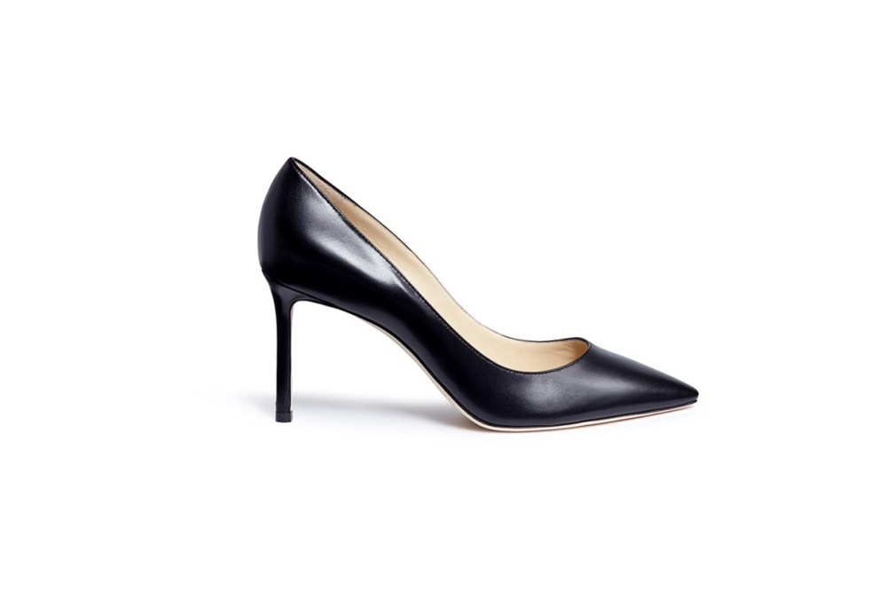 Jimmy Choo-Romy 85 Leather Pumps