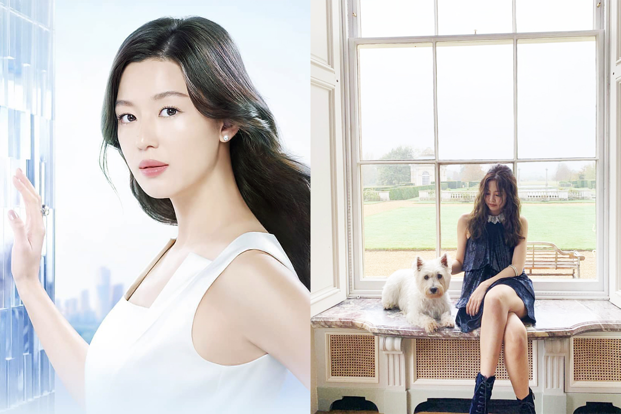 Jun Ji Hyun Blackpink Jennie Hera Chanel Brand Ambassador K Beauty Korean Cosmetics Korean Idols celebrities actress singer
