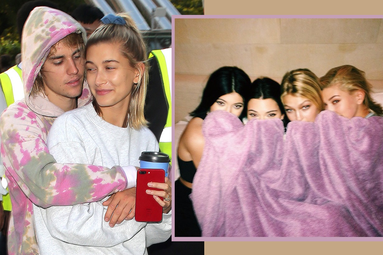Justin Bieber Hailey Baldwin Bridesmaids