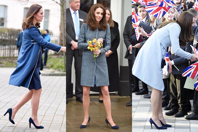 kate-middleton-meghan-marklebritish-royals-wearing-navy-blue-pumps-royal-family
