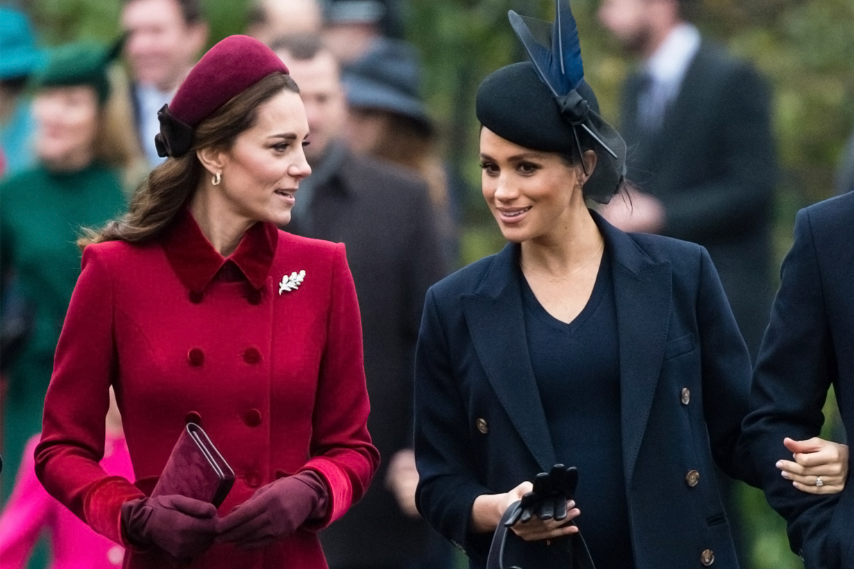 Kate Middleton Meghan Markle Prince William Prince Harry Queen Elizabeth II British Royal Family Duchesses Kensington Palace climb the royal ladder
