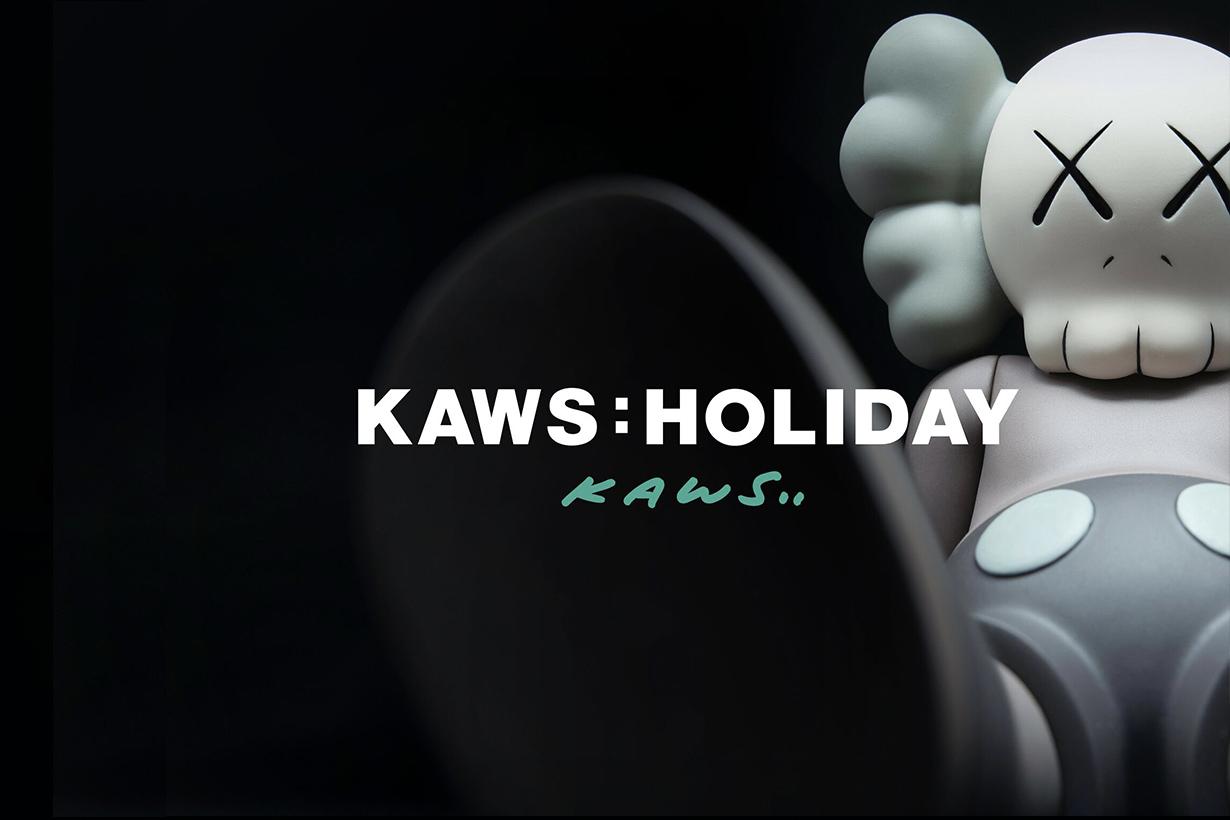 kaws holiday taiwan taipei exhibition