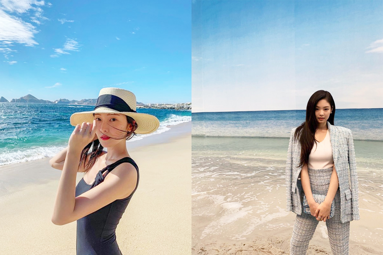 Korean Blush Makeup Tips Suzy Blackpink Jennie Lisa Jessica IU Lee Ji Eun Park Shin Hye Korean Celebrities Idols Girls Makeup Trend