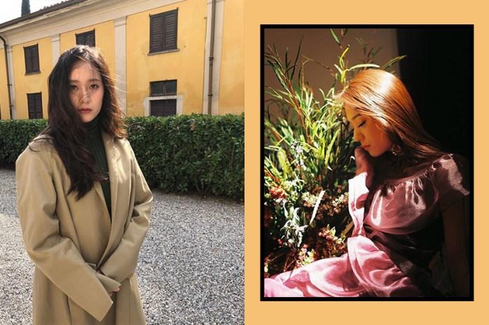 Krystal 粉絲「隨便拍」照片紅出國際!網民:顏值多高才能連偷拍照也這麼美?