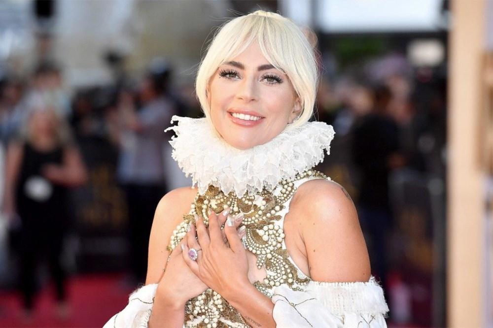 Lady Gaga's Oscar Red Carpet