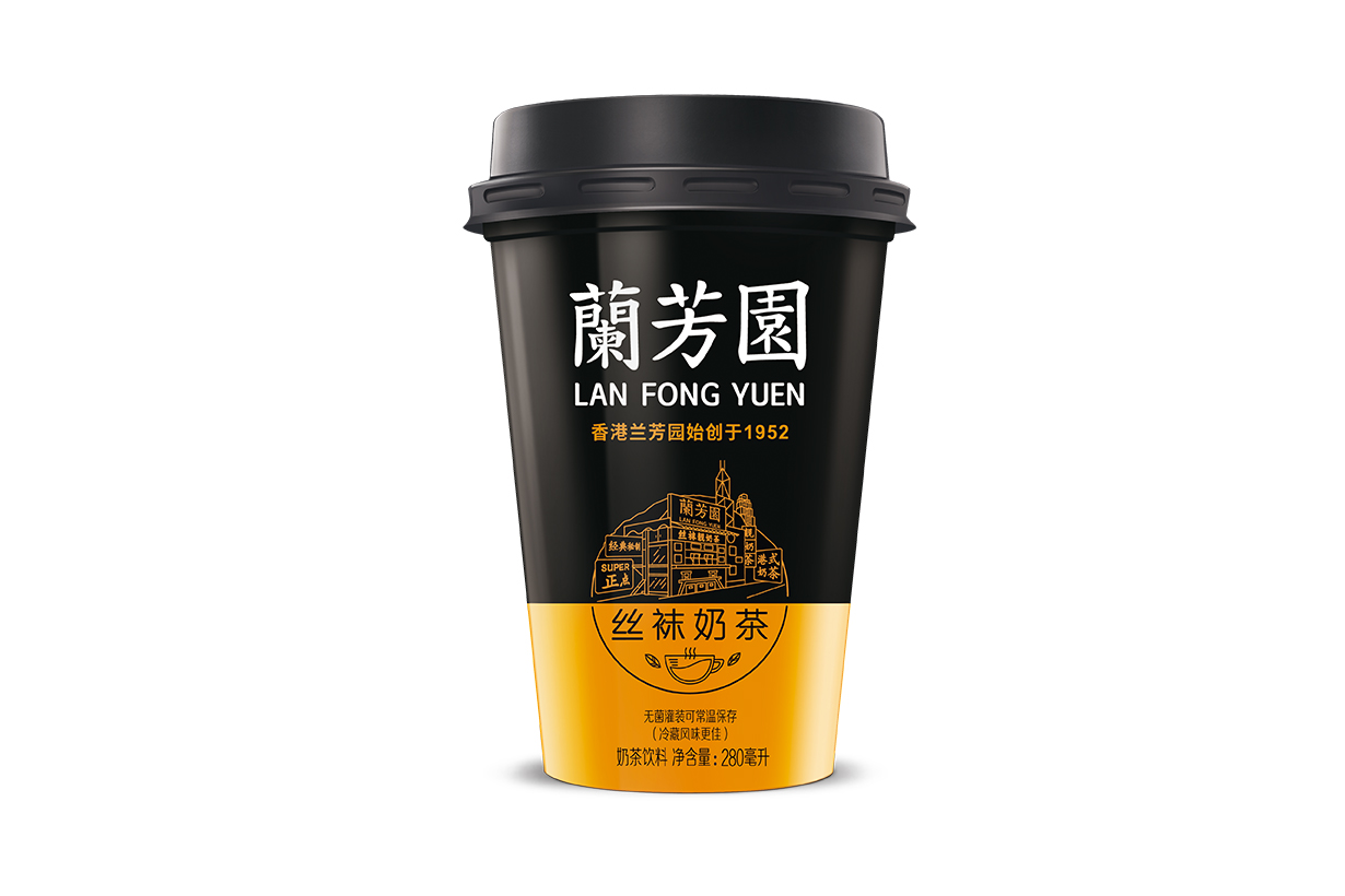Family Mart can buy Lan Fong Yuen milk tea