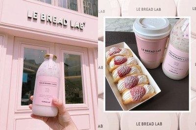 香港也吃到了!女生一看就愛上,韓國超人氣甜品店 LE BREAD LAB!