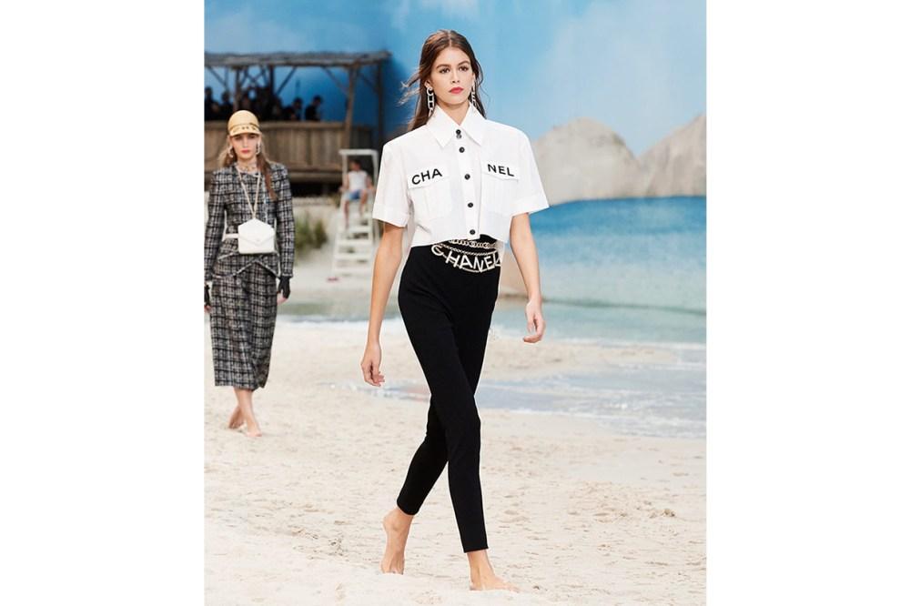 Chanel 2019 Spring Summer Kaia Gerber