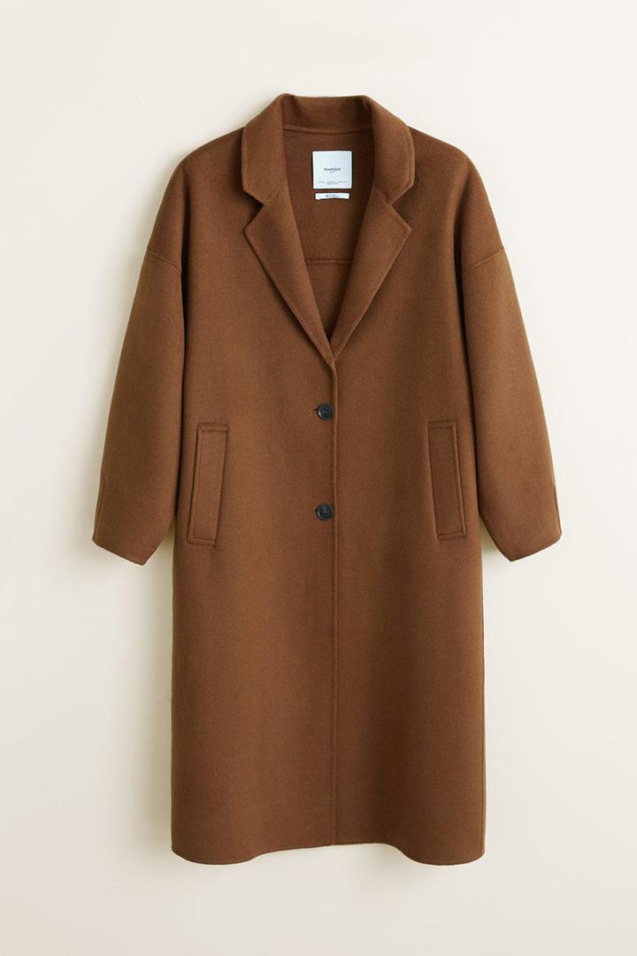 mango brown coat Sienna Miller Sophie Turner Priyanka Chopra