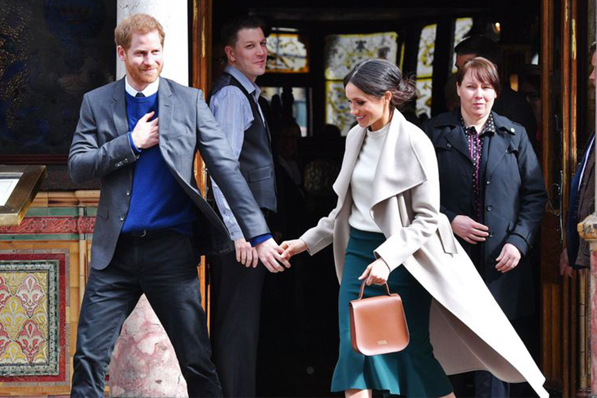 Meghan Markle and Kate Middleton Usually Hold Bags in Their Left Hands