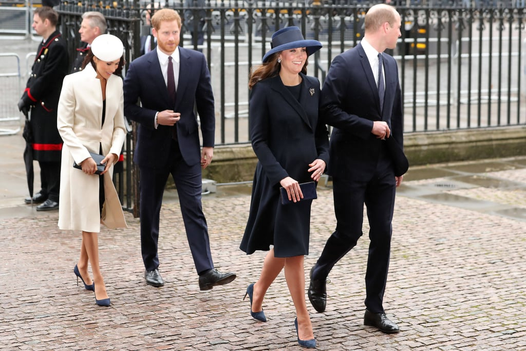 kate-middleton-meghan-marklebritish-royals-wearing-navy-blue-pumps-royal-family