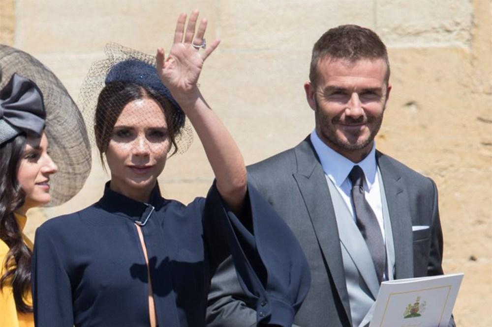 Victoria Beckham David Beckham Royal Wedding