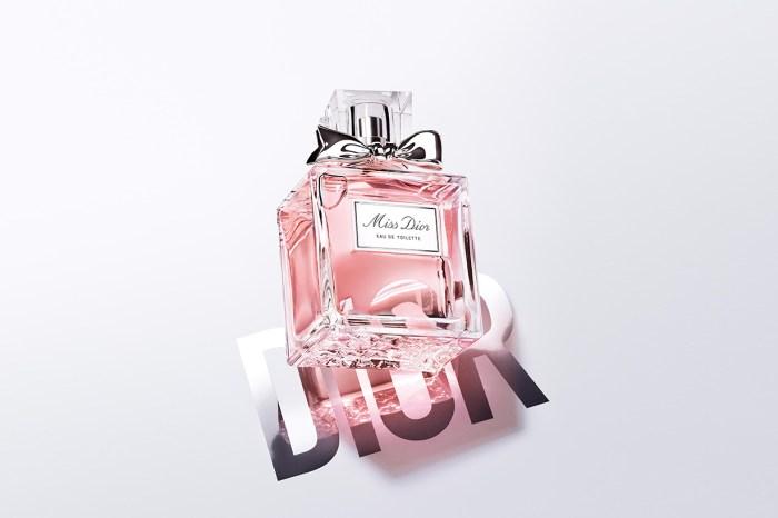 春日裡的可人兒:輕輕一噴 Miss Dior 香水就馬上有氣質了!