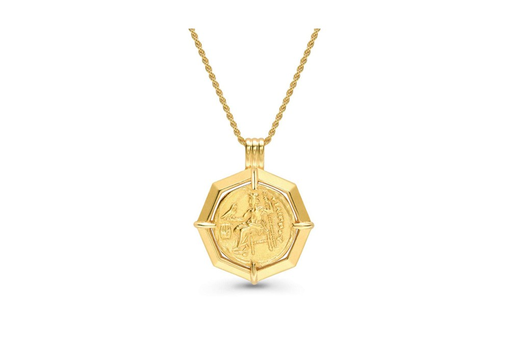 Missoma Lucy Williams Octagon Medallion Necklace