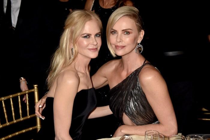 維持身材就靠意志!Nicole、Charlize 的同框照證明:「女神果然吃空氣就飽了」
