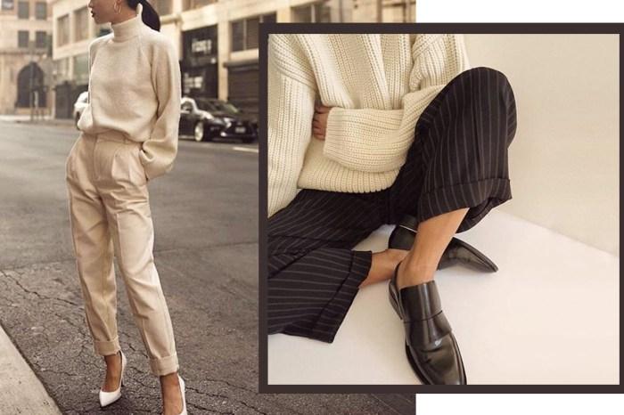 看過法式女生的褲裝造型,忍不住網購 10 條回家跟着穿!