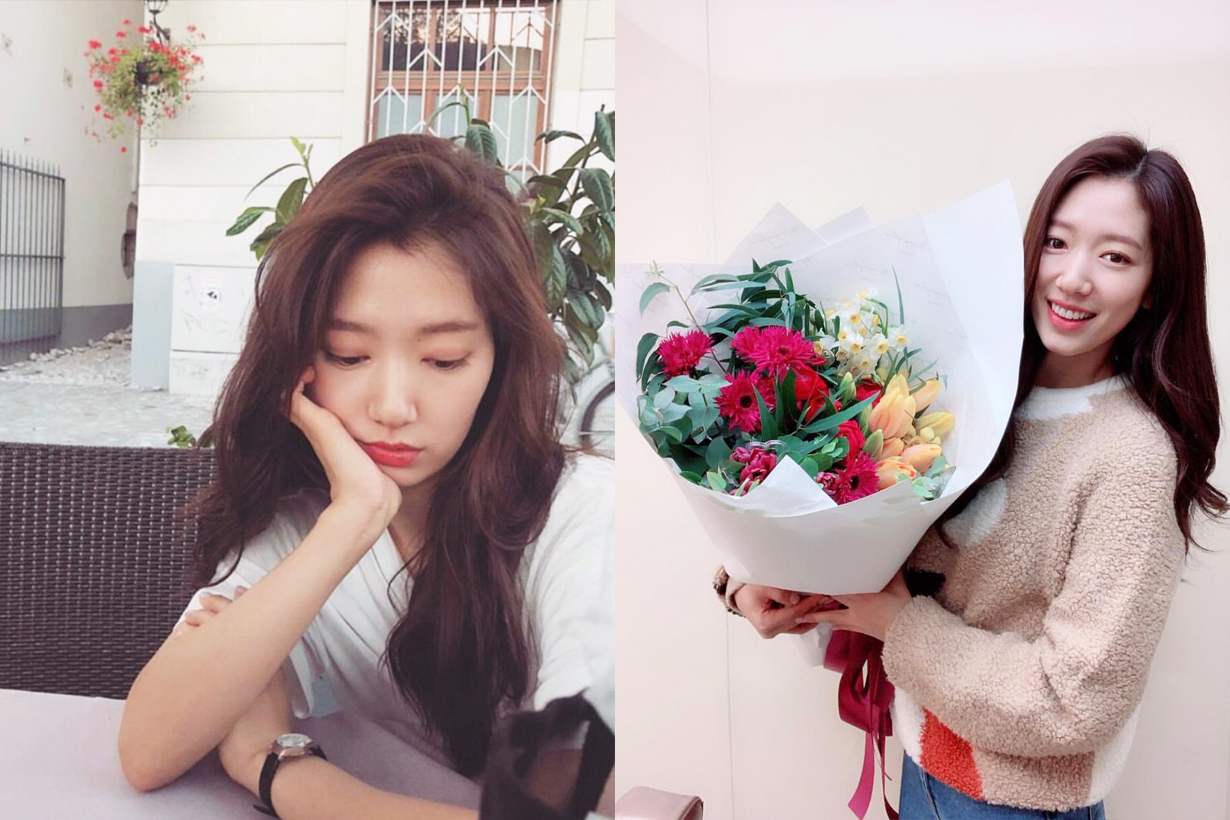 Park Shin Hye 2019 Hair Colour Trend Celebrities Hairstyles Memories of the Alhambra K Drama Korean Drama Actress Celebrities Idols