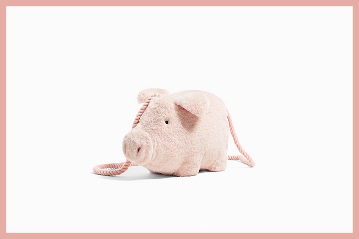 zara pig handbags hit sold out