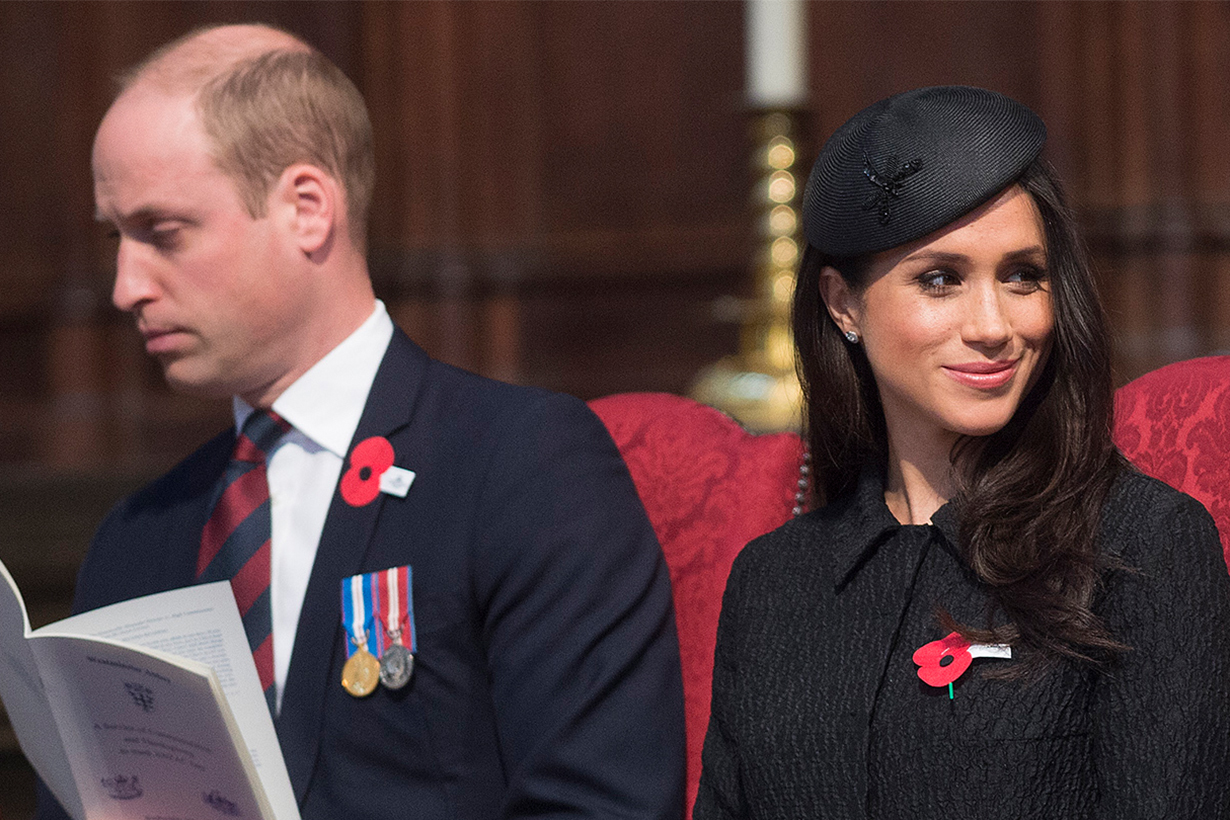Prince William Ignored Meghan Markle in This Video
