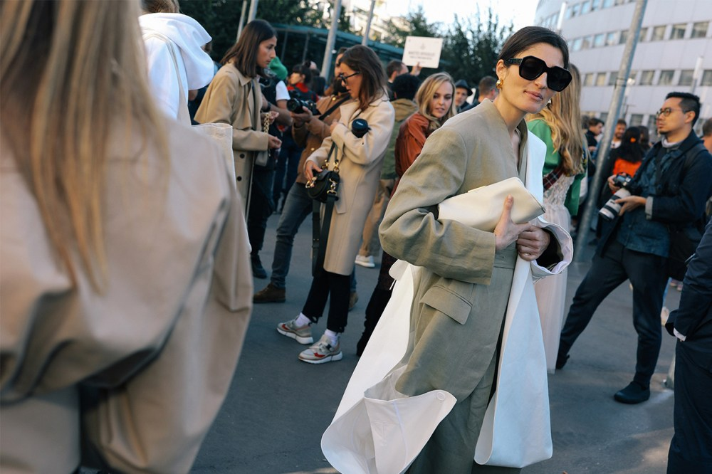 2019 Paris Fashion Week Street Style Celine