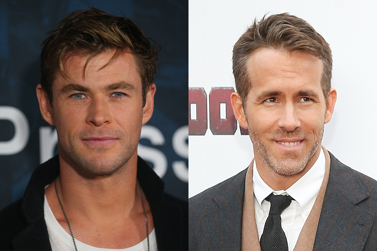 Chris Hemsworth Ryan Reynolds instagram comment