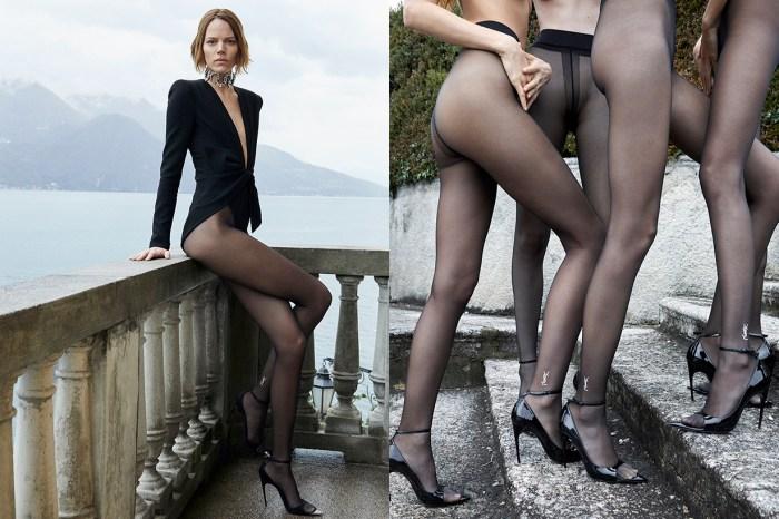 Saint Laurent 發布 2019 夏季廣告硬照,性感程度女生看到也會流鼻血!